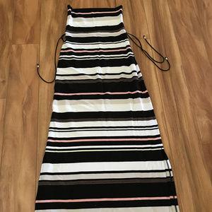 White House Black Market Skirts - White House Black Market Maxi Skirt Multi Colored